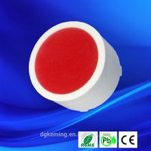 c18 forma rotonda barra di led singolo colore rotonda barra led tondo rosso ha condotto la luce
