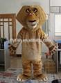 madagascar alex león el traje de la mascota