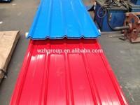 Prepainted aluminium zinc coated steel Material roofing sheets