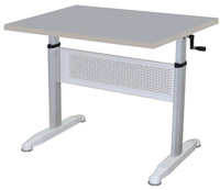 Adjustable Height Desk with Hand Brake /PCZ-515-C