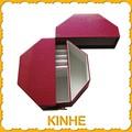 la chine a fait beau rouge boîte en carton personnalisé