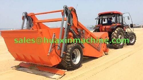 Beach Sand Cleaner Mounted Beach Sand Cleaner