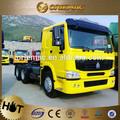 Sinotruk howo 6 wheeler caminhões trator, tabela de preços de tratores novos