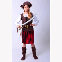 Party Carnival sexy caribbean pirate costume women MAA-98