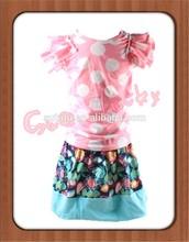 Childrens Customs wholesale clothings party dresses vietnam babys clothing set