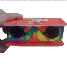 paper glasses gift! paper 3d stereo viewer/paper 3d stereoscope