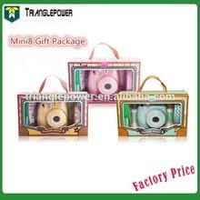 2015 Newest Fujifilm Instax Mini 8 Instant Film Camera , Gift Package Fuji Instax