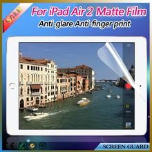 Axidi anti glare matte touch screen protector/guard/film for ipad air 2