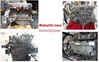 6HK1 4HK1 rebuild new excavator engine reconditioned diesel engine remanufactured complete engine assy