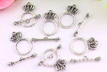 Wow!!! Fashion Wholesale metal alloy toggle clasps/Bulk crown toggle clasp for making jewelry!!!