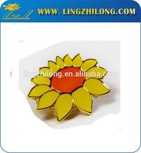 Children s health fund lapel pin hard enamel badge flower lapel pin