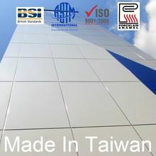 Salt water resistant silkscreen printing patterns in Vitreous Enamel Panel in Curtain Walls