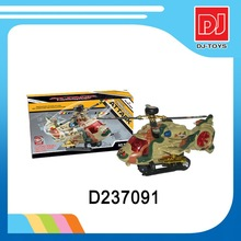 Good quality battery operated toy b/o helicopter electric toy plane with light and music