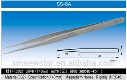AA-SA SA Series High Precision ESD tweezer Stainless Steel Tweezer