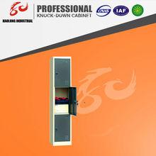 4 doors colorful storage steel locker ,godrej almirah designs, steel office cabinet