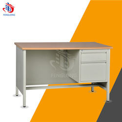 study table in steel for school and office