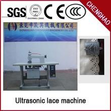 De encaje de ultrasonidos que hace la máquina, utiliza máquina de coserindustrial