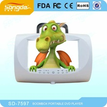 Portable DVD Player with TV and Games, VGA, USB, Card Reader