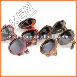 2015 fashion bamboo sunglasses (uv400)