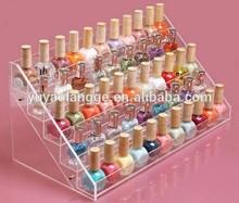 2015 NEW acrylic 5 layers 65 bottles nail polish Nail polish display rack