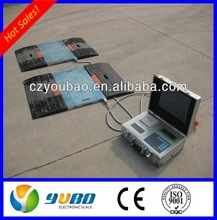 40t in motion portable dynamic axle weighing pads scale