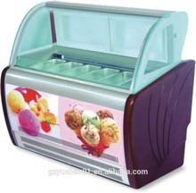 High quality commercial Supermarket ice cream refrigerator