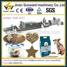 Cost saving OEM animal food pellets feed machine line, pet food pellet machine