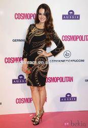 roman evening dress golden ladies western dress designs bandage celebrity dress