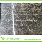 Brown Marble Slab Gold and Black Portoro Polished