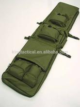 Army green tactical gun bag , good quality durable multi-pocket military gun bag
