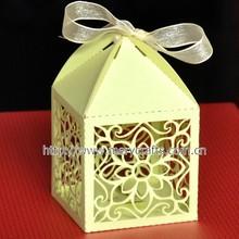 Favor gift box design wedding decoration cookies box