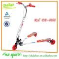 Kinder pedal tretroller vier- rad roller