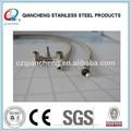 de acero inoxidable alambres 304 trenzado tubo transparente