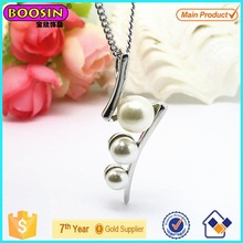 2015 New Design Alloy Pearl Necklace/Fashion Garment Necklace Jewelry/Pendant Necklace Wholesale #19561