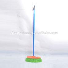 Plastic broom with handle