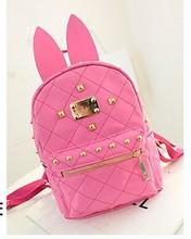 Rabbit ear fashion shoulder bags 2015 alibaba hot selling good quality backpack
