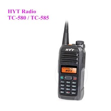 Portable Radio Interphone HYT TC-580 Walkiet Talkie With Powerful Front Panel Programming