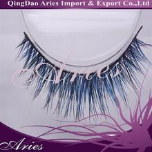 newest products private label false eyelash colorful strip fox eyelash hot sale