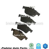 2015 chinese factory semi-metallic ceramic taxi car brake pads used for Iran and Dubai market