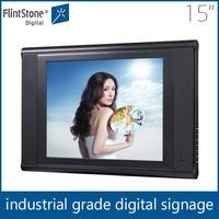 "Flintstone 15"" lcd retail acrylic digital monitor, ipad shape digital lcd display ,full hd chinese tablet xvideos timer video"