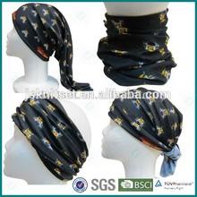 Seamless tube polyester dye sublimation bandana