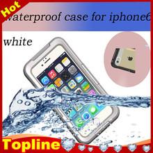 2015 hot outdoor Phone waterproof case for iphone 6, underwater waterproof case fit for iphone 6