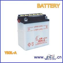 SCL-2013020273 Heavy Duty Battery YB3L-A 12V 3Ah Motorcycle Battery