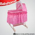 Dobrado baby play yard/berço de viagem/bebê cama