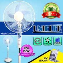 Egypt rechargeable standing fan lamp 16 inch rechargeable box fan ac/dc