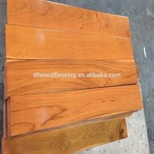 UV Coating Finished Chinese Teak Hardwood & Solid Wood Flooring