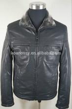 2015 new style men leather jacket