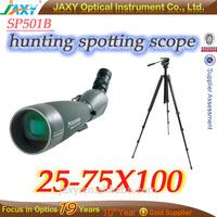 25-75x100 monocular telescope hunting spotting scope