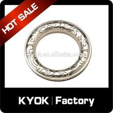 square metal ring curtain eyelets