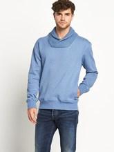blue Mens Originals Twisted Sweat Top wholesale sweatshirts